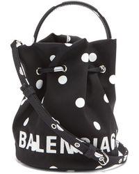 Balenciaga - ウィール Xs バケットバッグ - Lyst