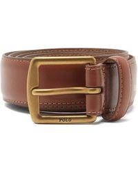 Polo Ralph Lauren Rlpc 67 レザーベルト - ブラウン