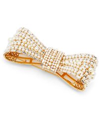 Dolce & Gabbana Boucles d'oreilles clippées à ornements cristaux - Multicolore