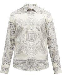 Etro ペイズリー コットンツイルシャツ - マルチカラー