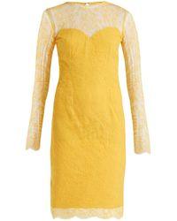 Emilio de la Morena - Julietta Lace And Silk Blend Dress - Lyst