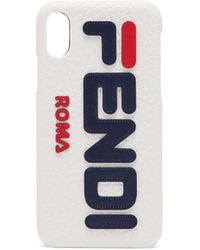 Fendi Mania Logo Iphone® X Case - Multicolour
