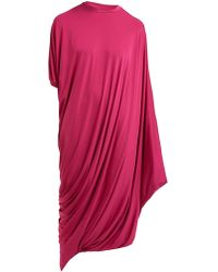 Vetements - Asymmetric Midi T Shirt Dress - Lyst