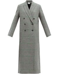 Pallas Harrison Prince-of-wales-check Wool Coat - Multicolor