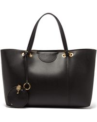 See By Chloé Marty Large Faux Leather Tote Bag - Black