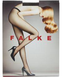 Falke Collants en résille - Marron