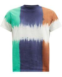 Noma T.D Twist Tie-dye Cotton-jersey T-shirt - Blue