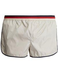 Gucci - Striped-waist Swim Shorts - Lyst