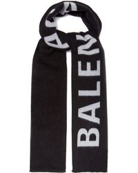 Balenciaga - Shearling Scarf - Lyst