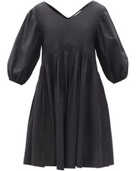 Merlette - Leyland V-neck Cotton Dress - Lyst