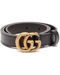 Gucci GG Leather Belt - Multicolour
