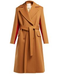 ROKSANDA - Nate Double Breasted Wool Blend Coat - Lyst