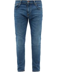 Nudie Jeans タイトテリー スキニージーンズ - ブルー