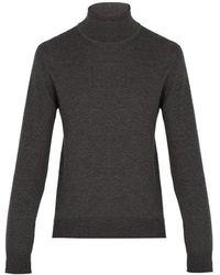 Maison Margiela - Roll-neck Wool-blend Sweater - Lyst