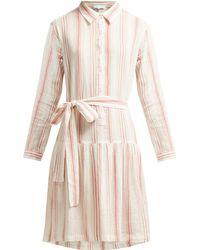 Melissa Odabash - Amelia Striped Cotton Dress - Lyst