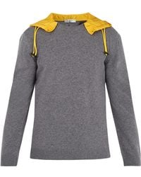 Valentino | Detachable-hood Wool Jumper | Lyst