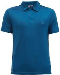 Vilebrequin ピリノール リヨセルジャージーポロシャツ - ブルー