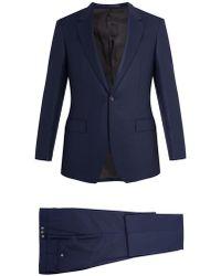 Kilgour - Single Breasted Wool Crepe Suit - Lyst