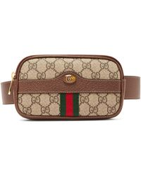 Gucci - Ophidia Gg Supreme Iphone® Belt Bag - Lyst