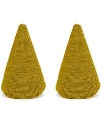 Rebecca de Ravenel - Aida Triangle Cord Earrings - Lyst