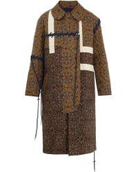 Craig Green Tile-print Quilted Cotton Coat - Multicolour