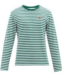 AMI - De Coeur コットン ロングスリーブtシャツ - Lyst