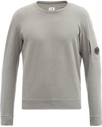 C.P. Company コットンスウェットシャツ - グレー