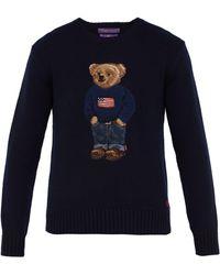 Ralph Lauren Purple Label - Admiral Bear Wool & Cashmere Jumper - Lyst
