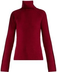 Haider Ackermann | Invidia Roll-neck Wool And Cashmere-blend Sweater | Lyst