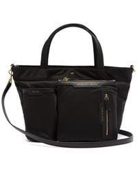 Anya Hindmarch Leather Trim Tote Bag - Black