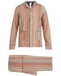 Paul Smith Signature Striped Cotton Pyjamas - Multicolour