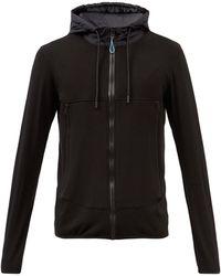 Orlebar Brown Bahia Zip-through Hooded Sweatshirt - Black