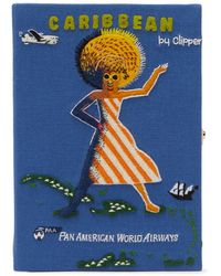 Olympia Le-Tan - Caribbean ブッククラッチバッグ - Lyst