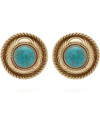 Etro - Stone-embellished Stud Earrings - Lyst