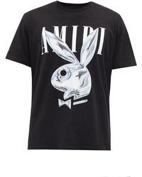 Amiri X Playboy バニー Tシャツ - ブラック