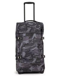 Eastpak - Tranverz Camouflage-print Medium Suitcase - Lyst