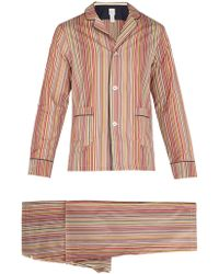Paul Smith - Signature Stripe Cotton Pyjama Set - Lyst