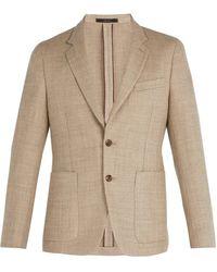Paul Smith - Blazer en laine mélangée à boutonnage simple - Lyst