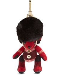 Burberry - Thomas Bear Busby Cashmere Keyring - Lyst