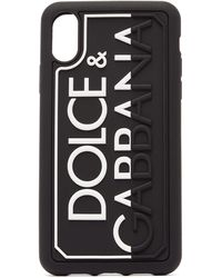 Dolce & Gabbana - エンボスロゴ Iphone Xr ケース - Lyst