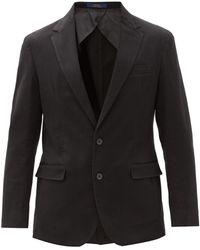 Polo Ralph Lauren コットン シングルジャケット - ブラック