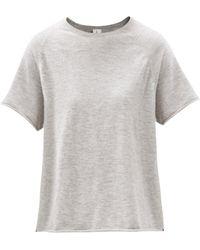 Extreme Cashmere トッド カシミアtシャツ - グレー