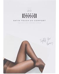 Wolford Collants 20 deniers Satin Touch Comfort - Multicolore