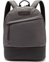 Want Les Essentiels De La Vie Kastrup Technical Fabric Backpack - Gray