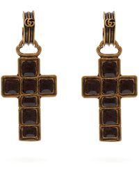 814c1f3a1 Women's Gucci Earrings - Lyst