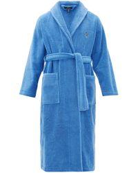 Polo Ralph Lauren テリーナイトガウン - ブルー