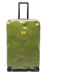 Crash Baggage Stripe 79cm Suitcase - Green