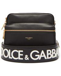 611d6a3f5699 Dolce & Gabbana Dgloveslondon Waist Bag in Black for Men - Lyst