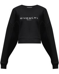 Givenchy - ロゴ コットンスウェットシャツ - Lyst