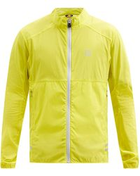 66 North Kársnes Zipped Lightweight Waterproof Jacket - Yellow